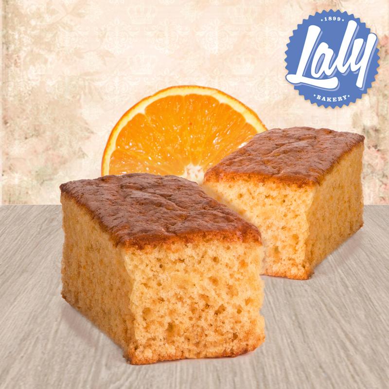 Bizcocho de naranja sin azúcares añadidos