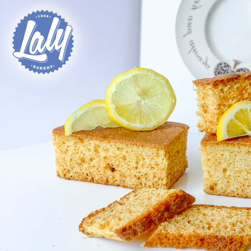 Bizcocho limón sin azúcares añadidos